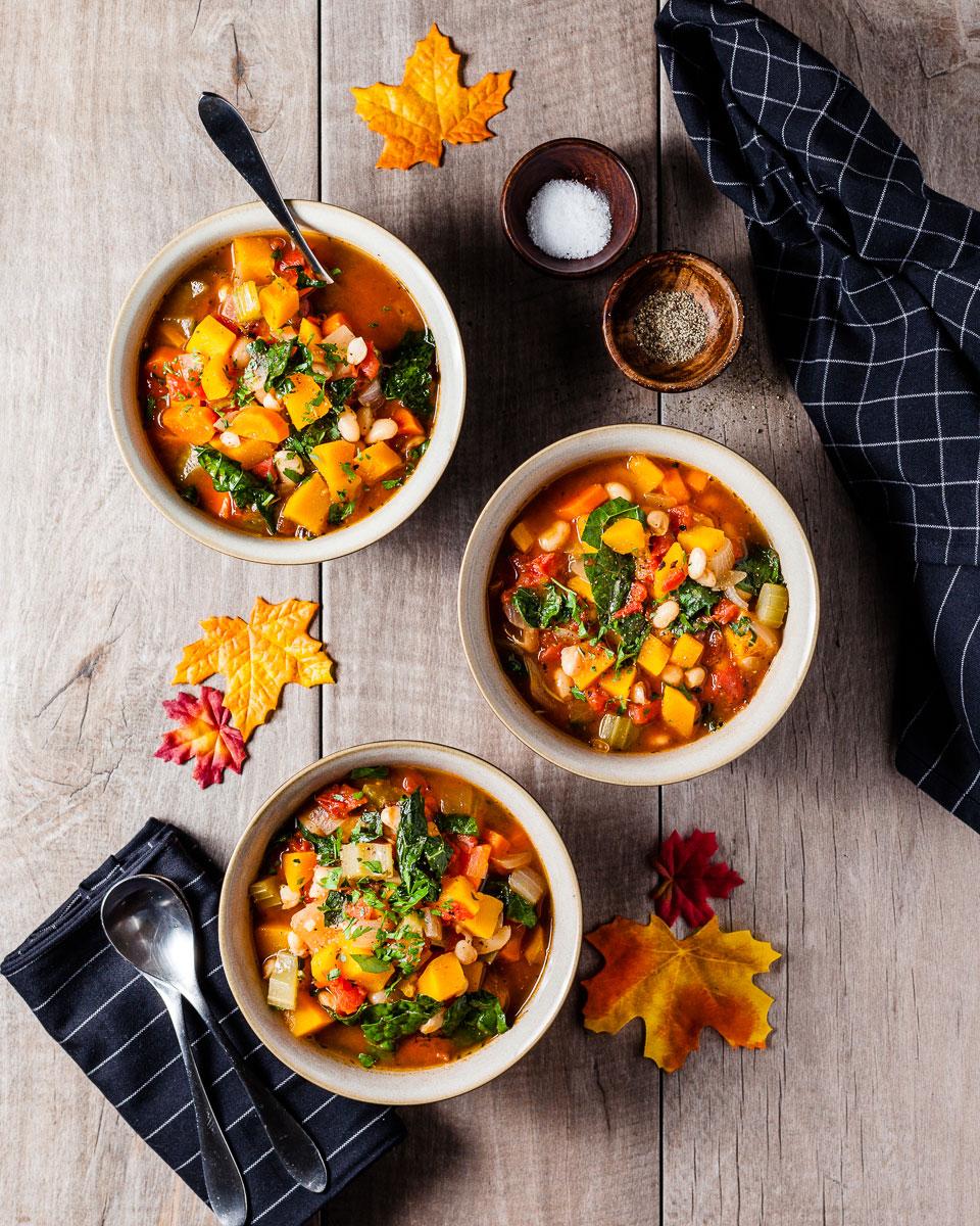pumpkin minestrone