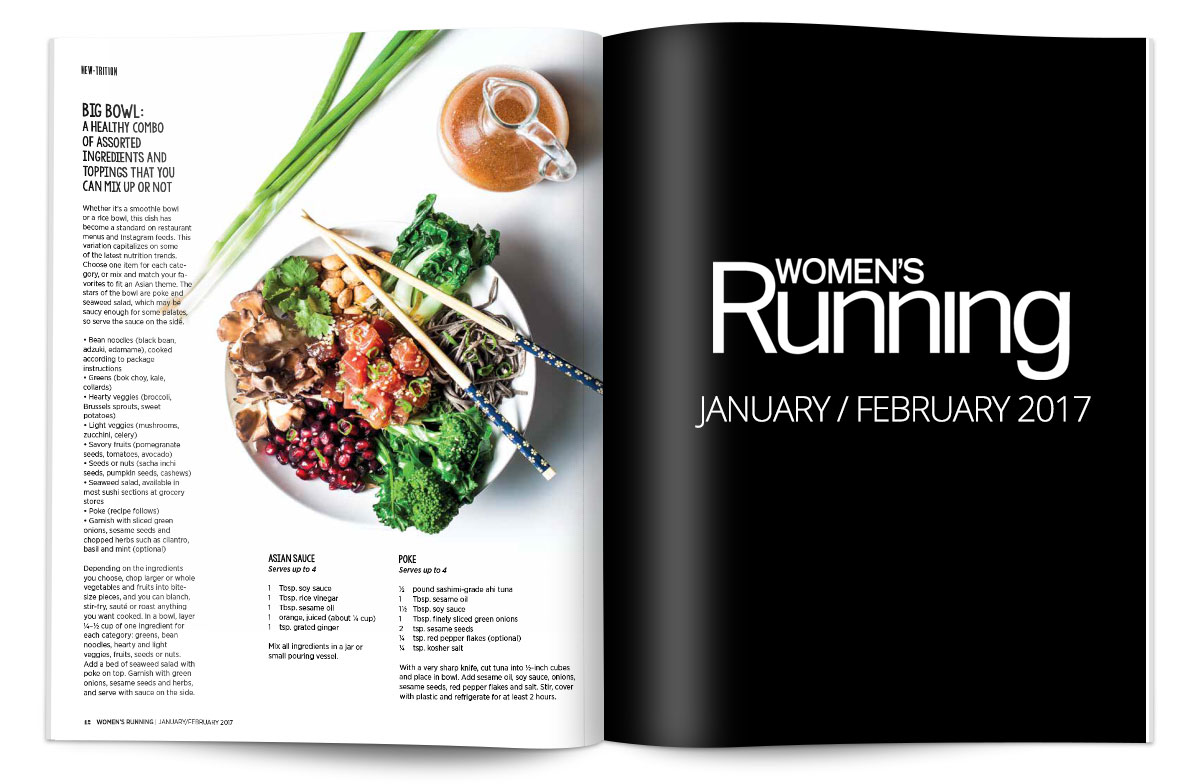 Women's Running Nutrition - Jan / Feb 2017